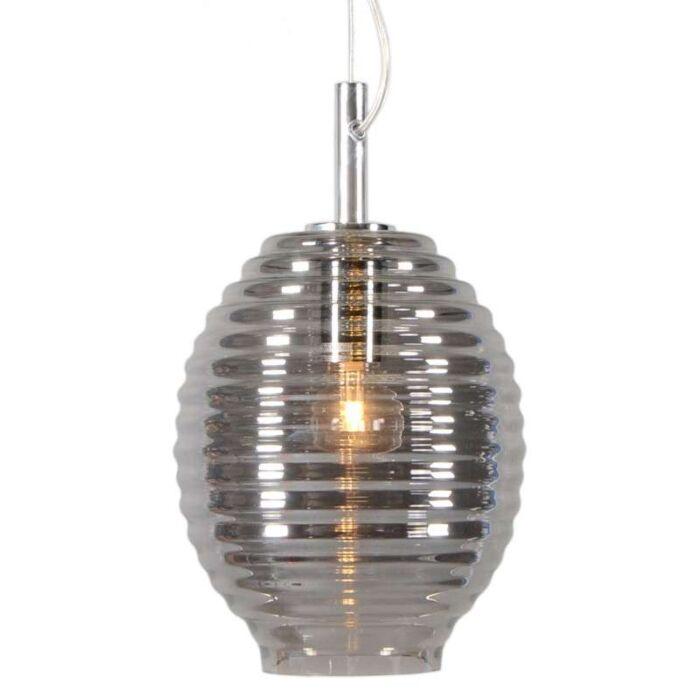 Hanglamp-Treviso-IV-rook-glas