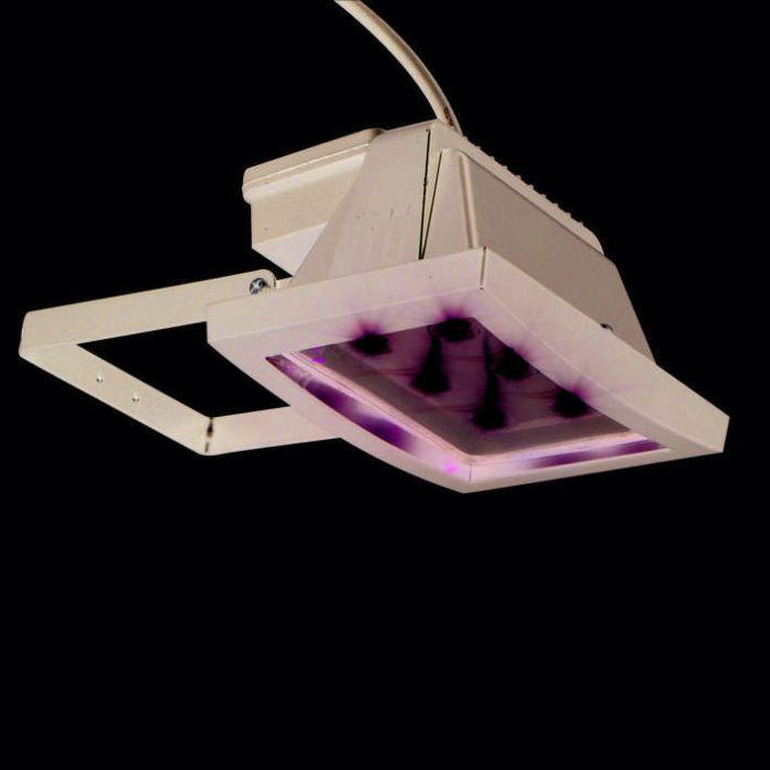 LED-straler-zwart