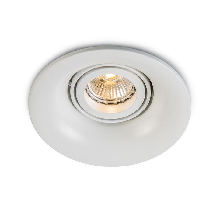Inbouwspot-Punch-wit-LED