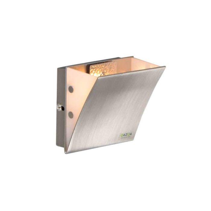 Wandlamp-Book-I-staal
