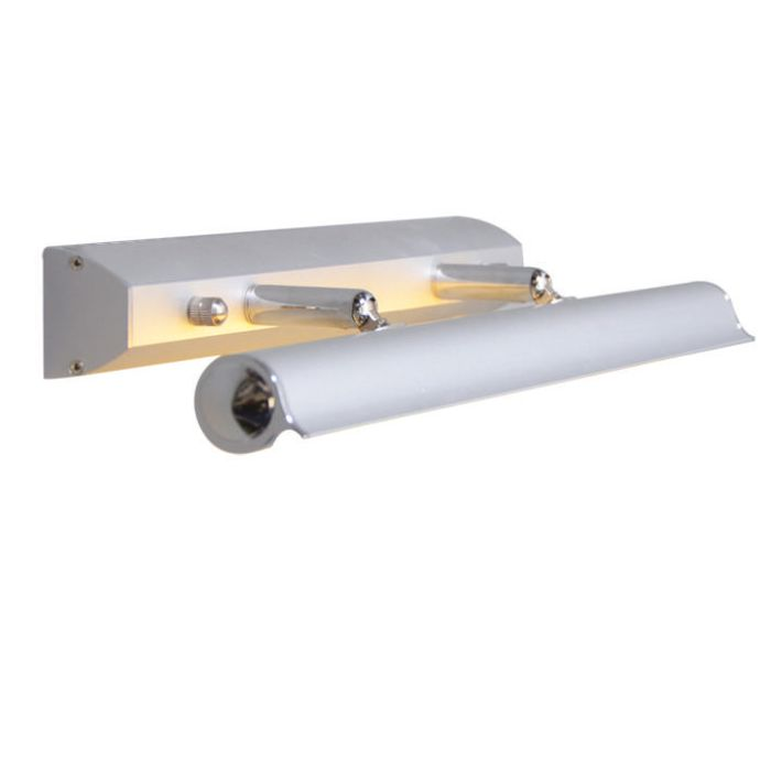 Schilderijlamp-Pittura-8W-zilvergrijs