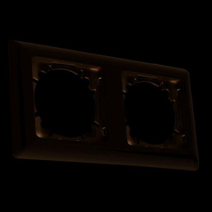 2-Voudig-afdekraam-voor-schakelmateriaal-Basic-wit