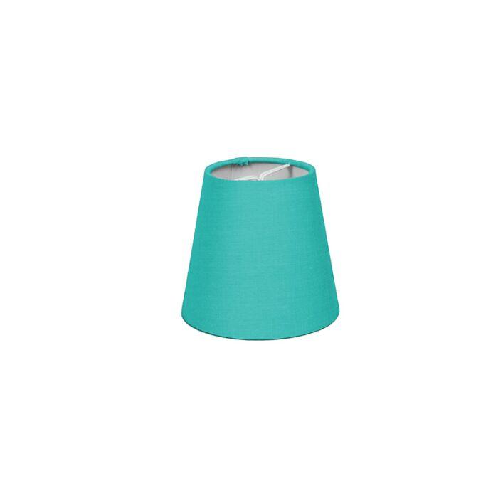 Klemkap-12cm-rond-SC-turquoise