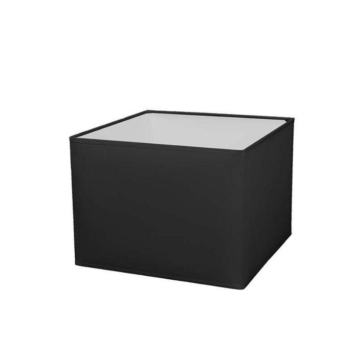 Kap-vierkant-30/30/22-zwart-E27