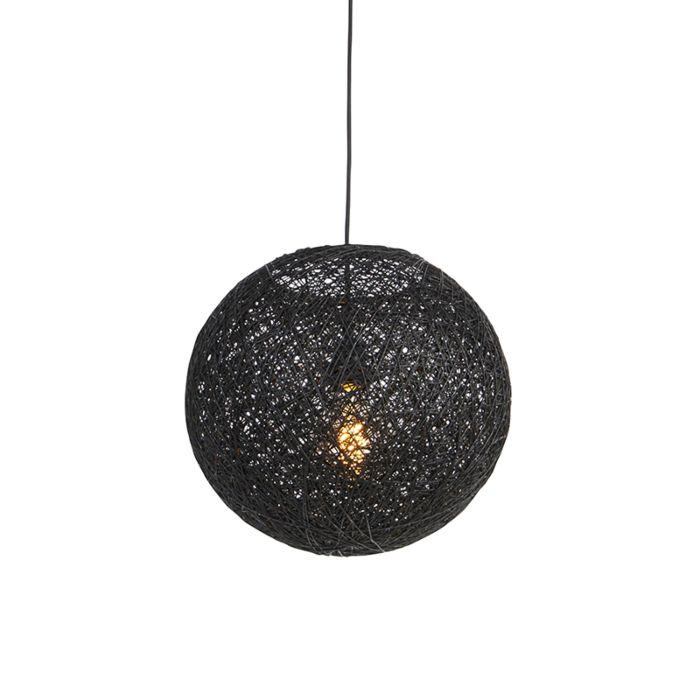Hanglamp-zwart-35-cm---Corda
