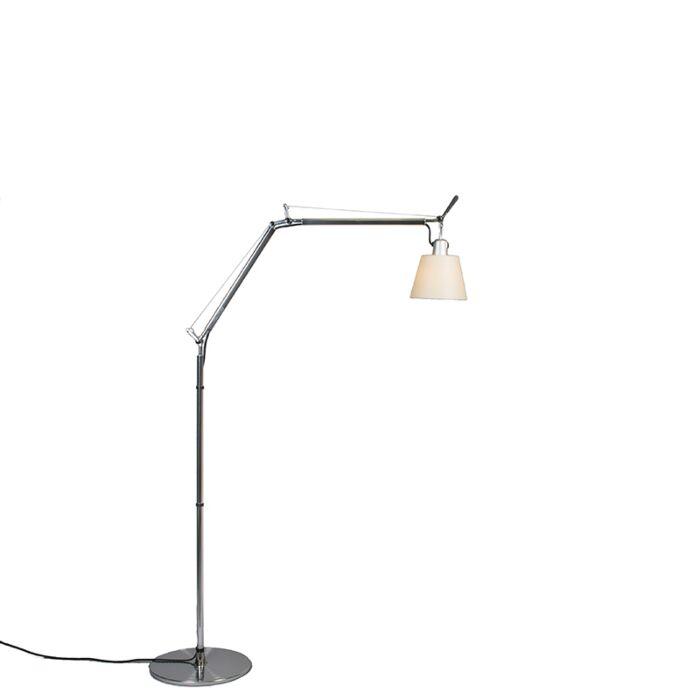 Artemide-vloerlamp-verstelbaar--Artemide-Tolomeo-Basculante-terra