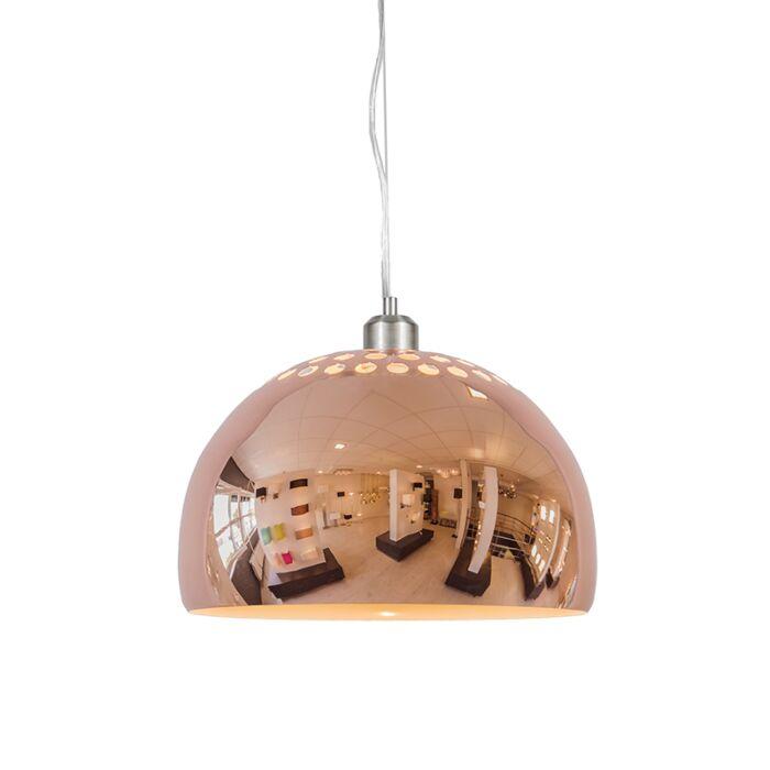 Hanglamp-Globe-33cm-koper