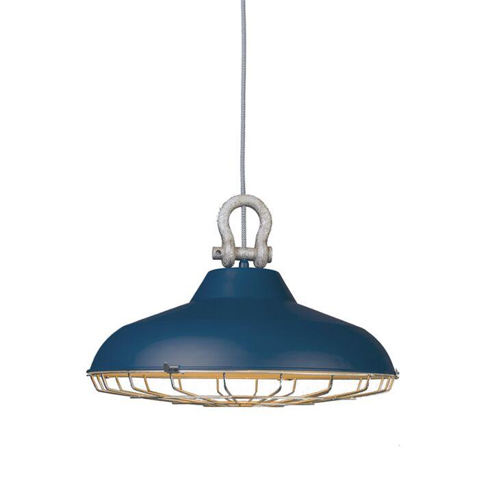 Hanglamp-Strijp-mat-blauw