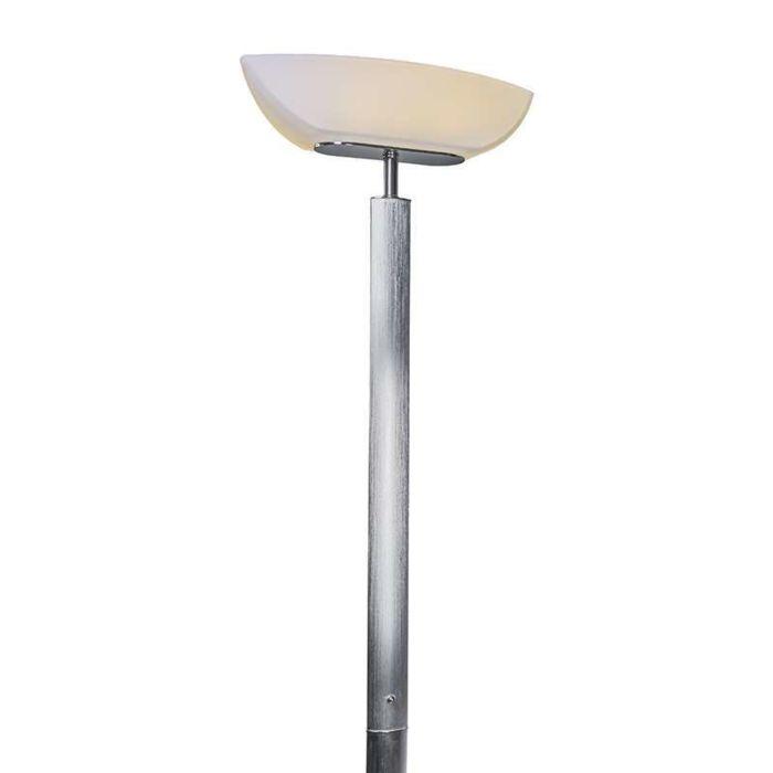 Vloerlamp-Ovalo-LED-chroom