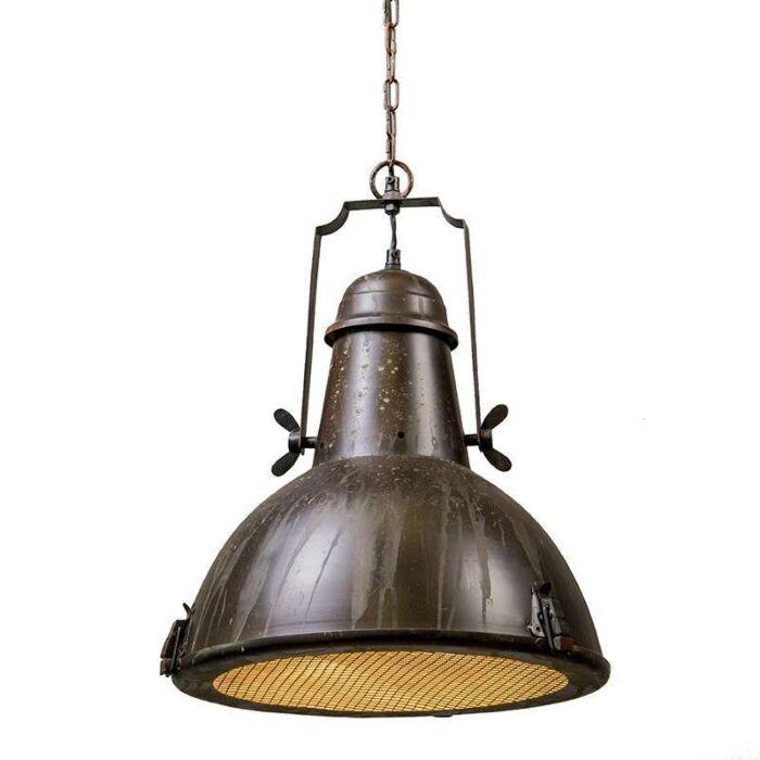 Hanglamp-Petrol-I-rustiek