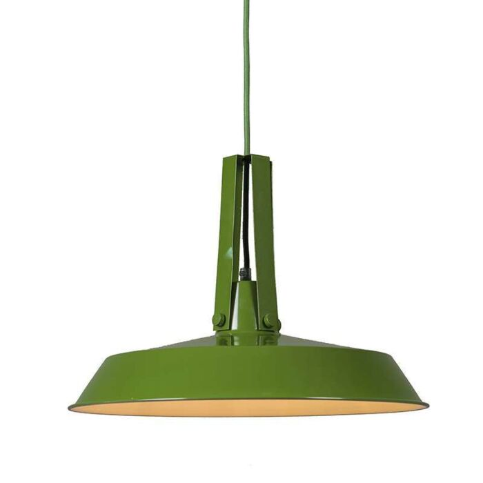 Hanglamp-Living-40cm-groen