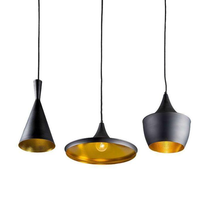 Hanglamp-Depeche-3-zwart-met-goud