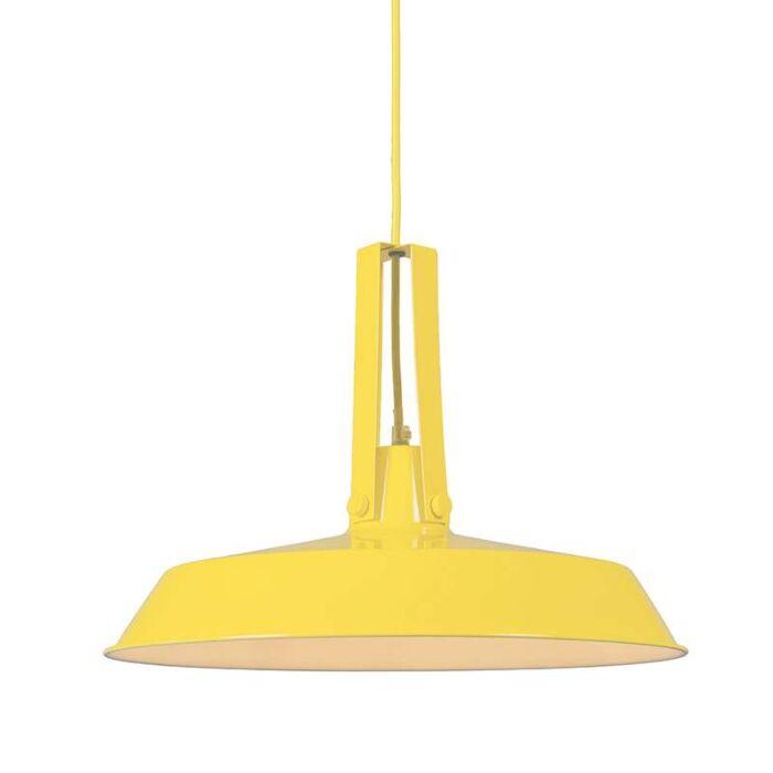 Hanglamp-Living-40cm-geel