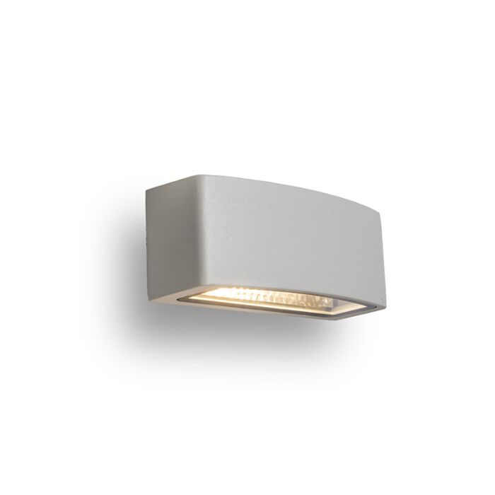 Wandlamp-Latina-E27-lichtgrijs
