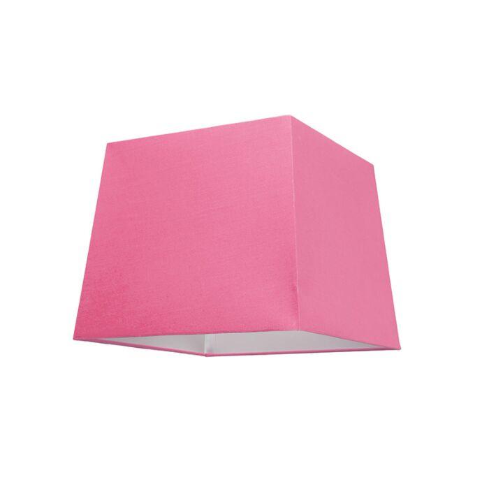 Kap-30cm-vierkant-SU-E27-roze