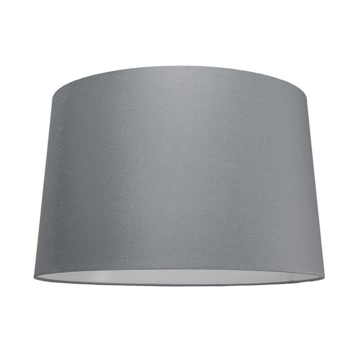 Kap-50cm-rond-SU-E27-grijs