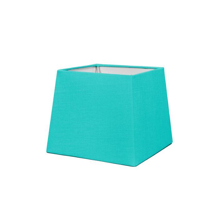 Kap-18cm-vierkant-SD-E27-turquoise