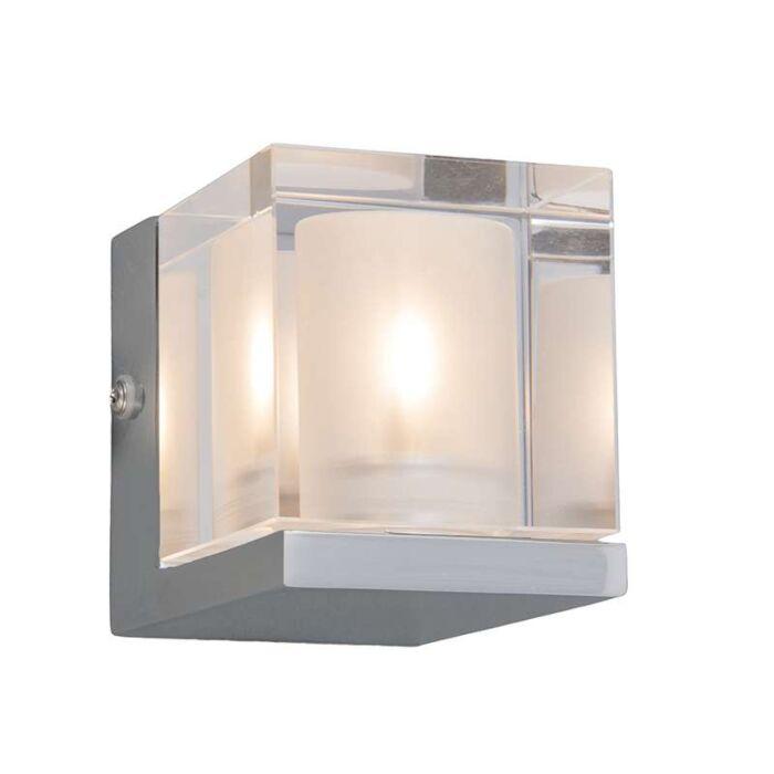Badkamer-wandlamp-Dice-1-chroom