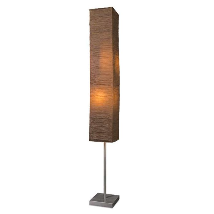 Vloerlamp-Panatella-bruin