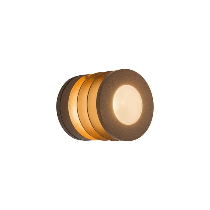 Wandlamp-Beacon-roestkleur