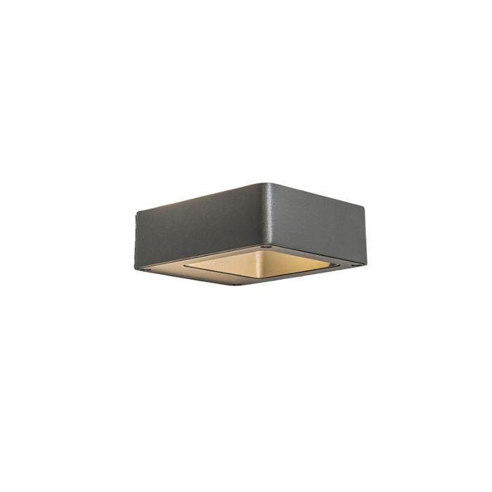 Wandlamp-Hollow-LED-donkergrijs