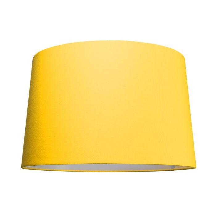 Kap-50cm-rond-SU-E27-geel