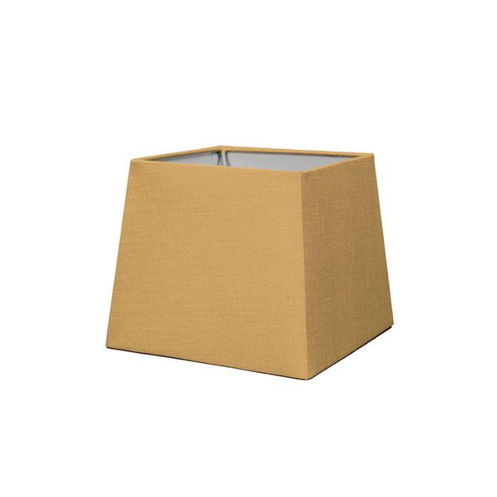 Kap-18cm-vierkant-SD-E27-beige