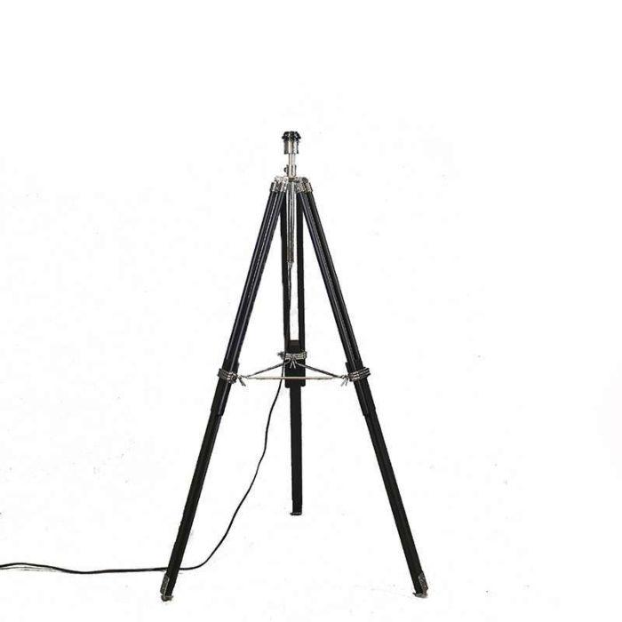 Vloerlamp-Tripod-zwart-zonder-kap
