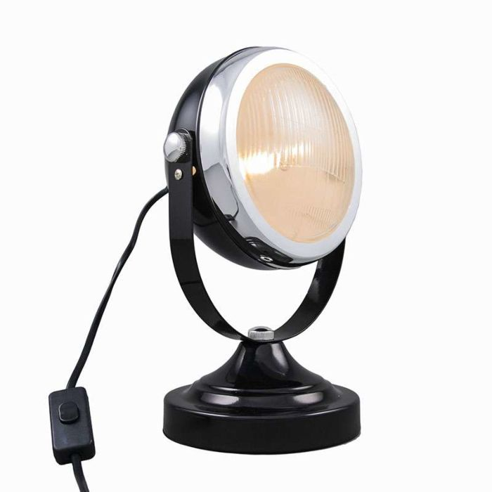Tafellamp-Biker-zwart