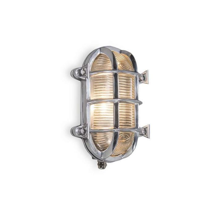 Wand/plafondlamp-Nautica-ovaal-chroom