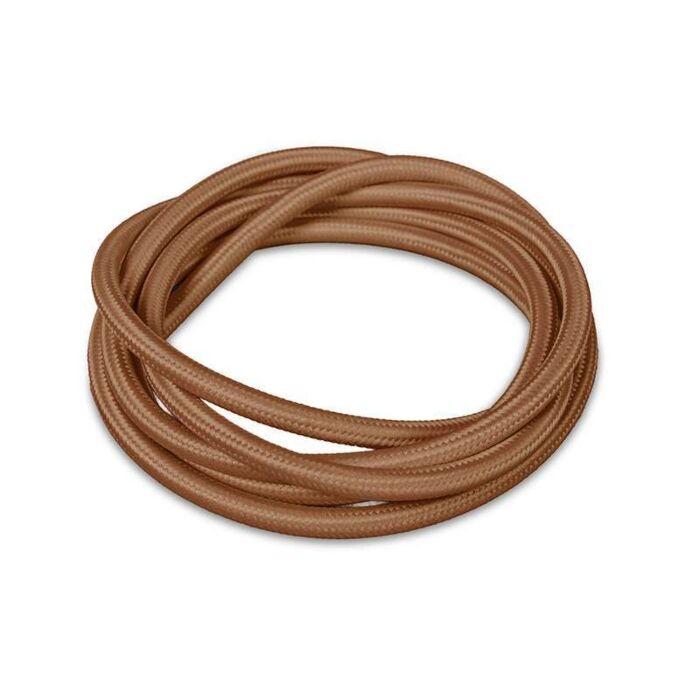 Stoffen-kabel-1-meter-bruin