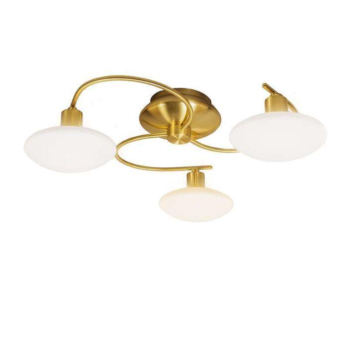 Plafonniere-Saturno-3-mat-goud