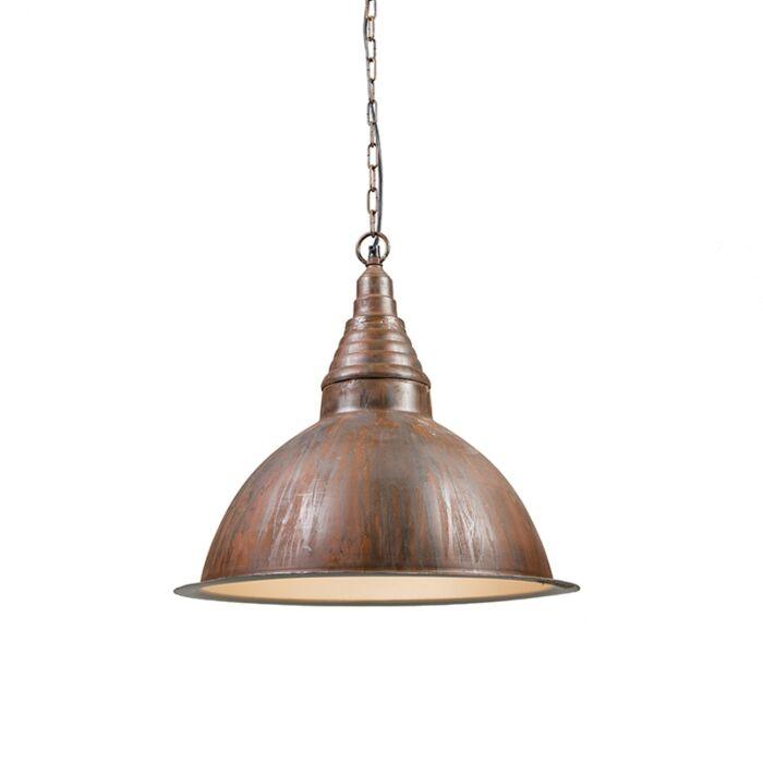 Industriële-hanglamp-roest---Factory