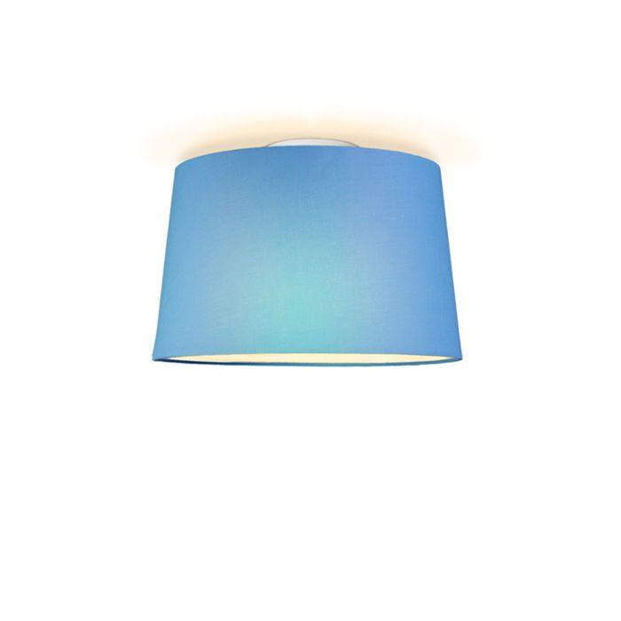 Plafonniere-Ton-rond-40-lichtblauw