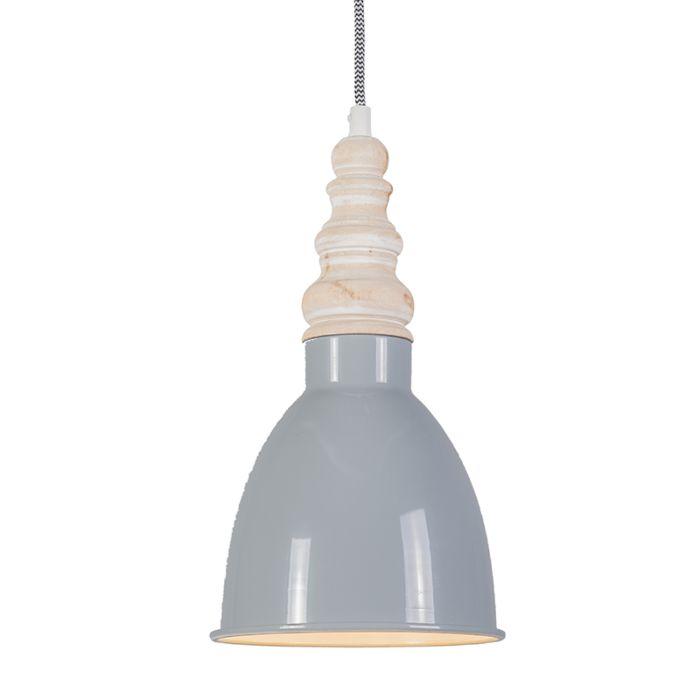 Hanglamp-Oak-grijs