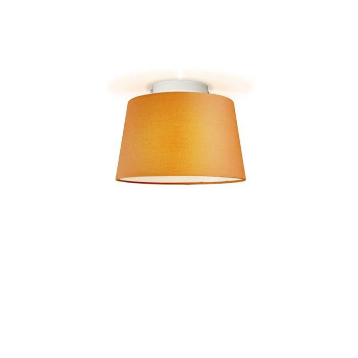 Plafonniere-Ton-rond-30-oranje