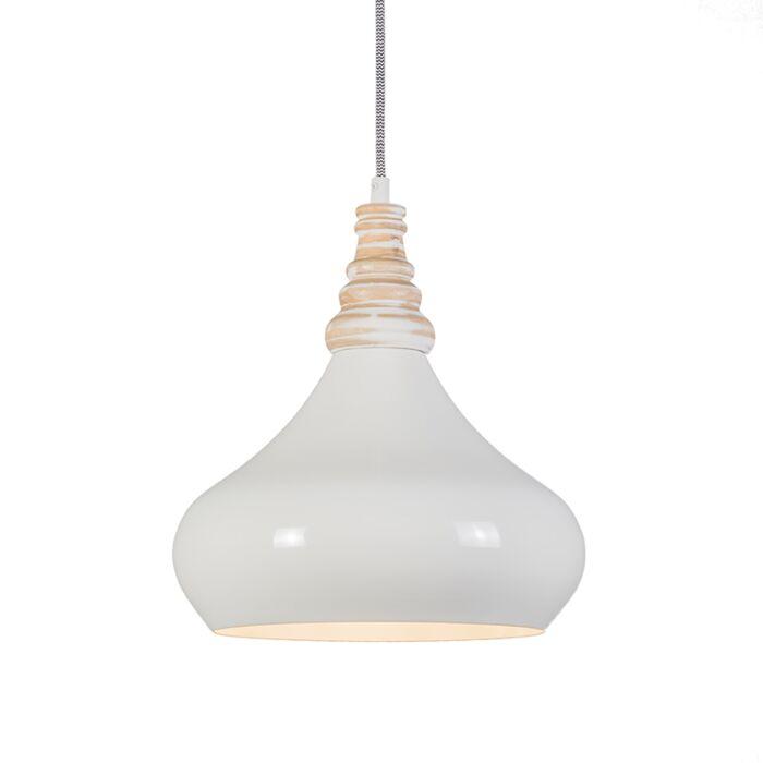 Hanglamp-Maple-creme