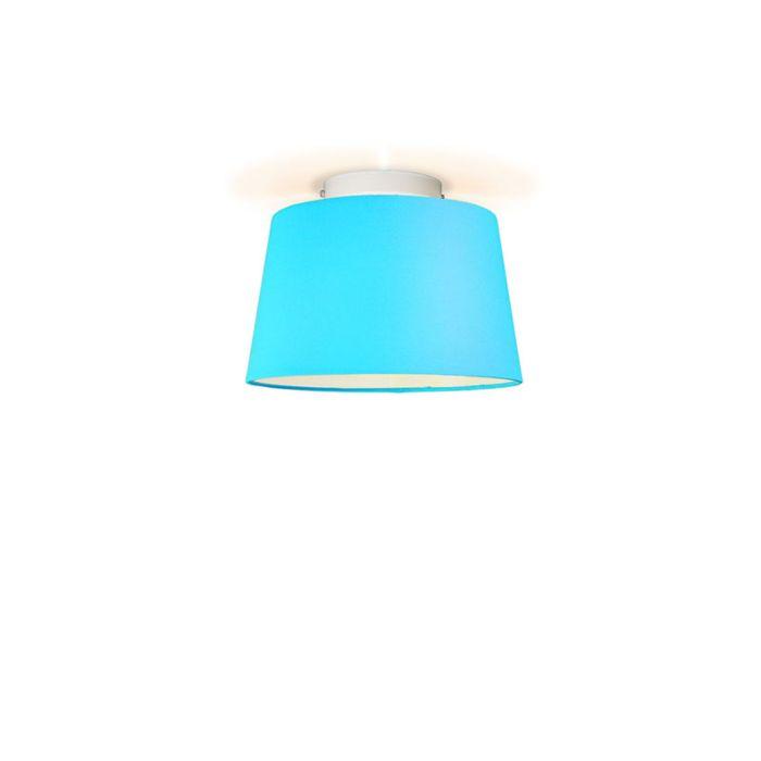 Plafonniere-Ton-rond-30-lichtblauw