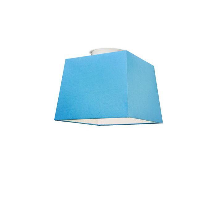 Plafonniere-Ton-vierkant-30-lichtblauw