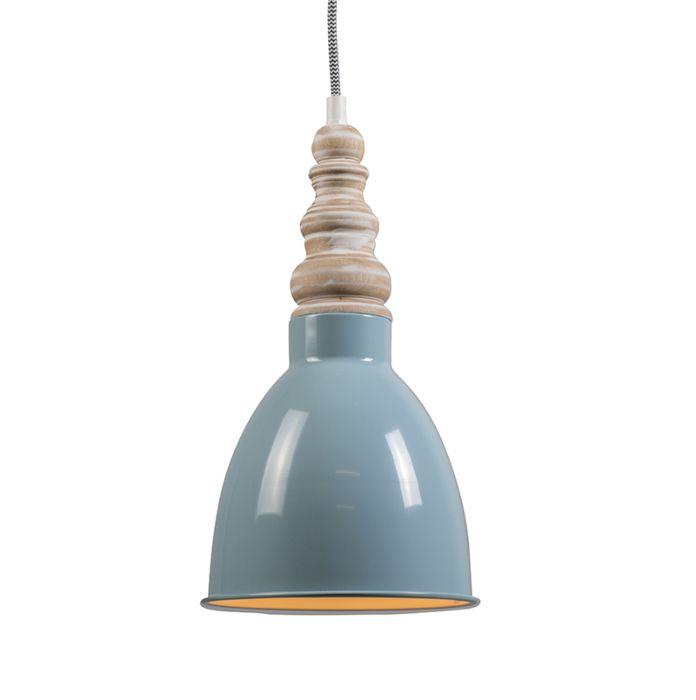 Hanglamp-Oak-lichtblauw