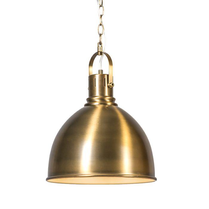 Hanglamp-Goblet-brons