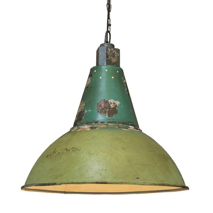Hanglamp-Oxidise-antiek-groen
