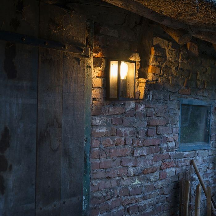 Industriële-buitenwandlamp-zwart-met-glas-IP44---Rotterdam-2