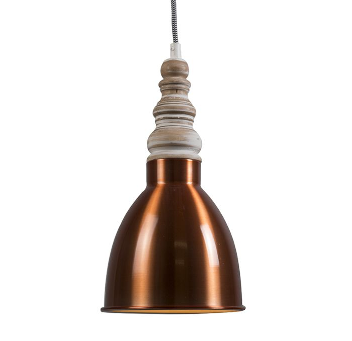 Hanglamp-Oak-koper