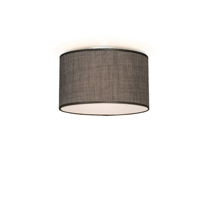 Plafonniere-Drum-35-bruin-grijs