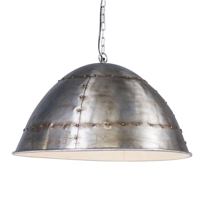 Hanglamp-Tibet-antiek-staal