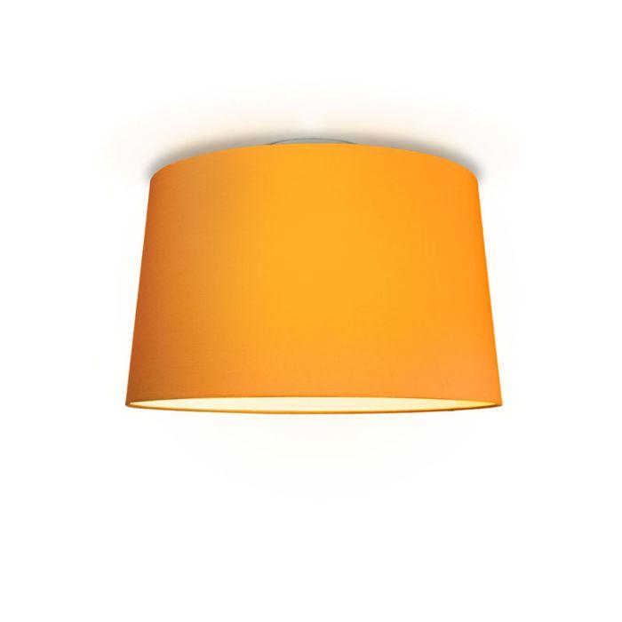 Plafonniere-Ton-rond-50-oranje
