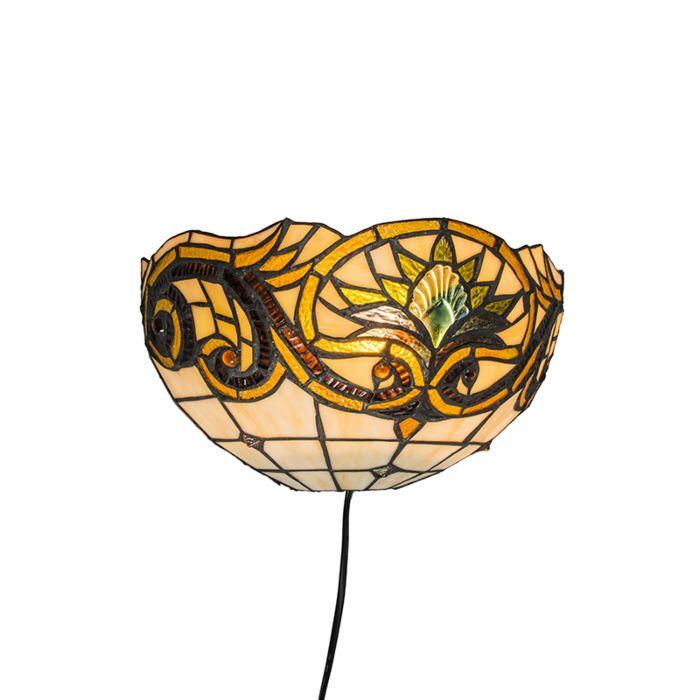 Wandlamp-Tiffany-Sunflower