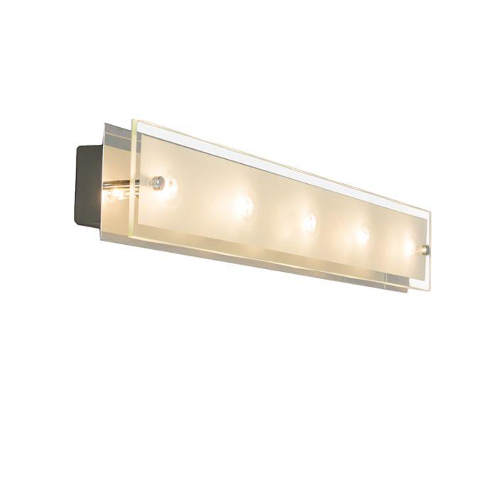Wandlamp-Troy-5-chroom