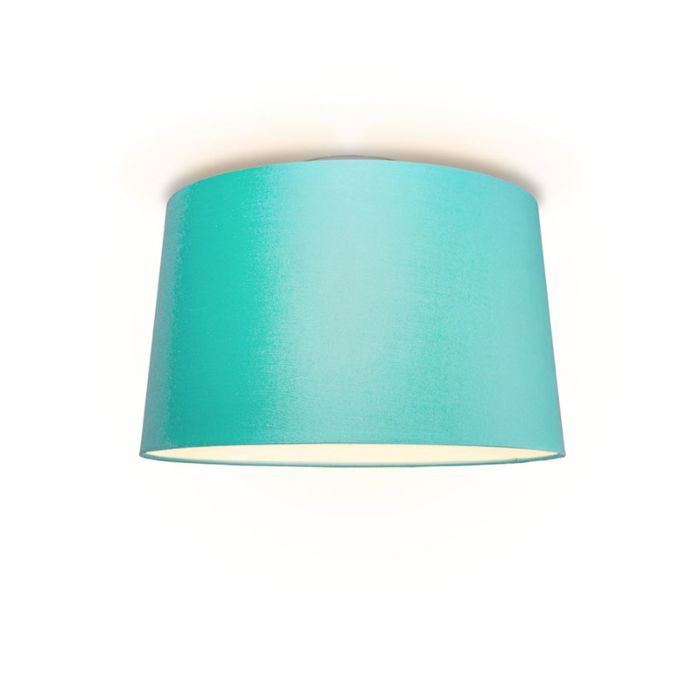 Plafonniere-Ton-rond-50-turquoise